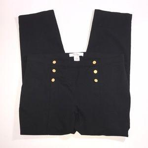 89th Madison sailor style crop pants